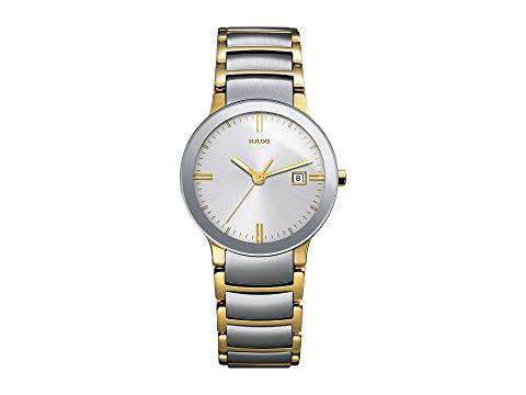 RADO 銀色 シルバー 黄色 イエロー 金色 ゴールド 【 SILVER YELLOW RADO CENTRIX R30932103 TWOTONE GOLD 】 腕時計 レディース腕時計