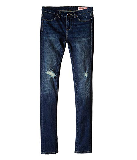 【NeaYearSALE1/1-1/5】ブランクニューヨークシティーキッズ BLANK NYC KIDS デニム 【 DENIM RIPPED SKINNY JEANS IN JUNK DRAWERS BIG BLUE 】 キッズ ベビー マタニティ ボトムス 送料無料