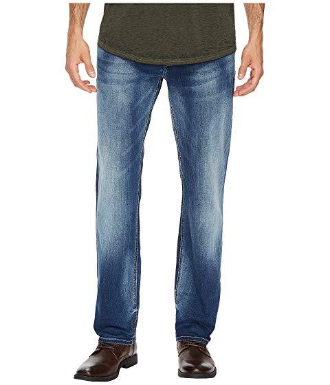 【★スーパーセール中★ 6/11深夜2時迄】バッファローデビットビトン BUFFALO DAVID BITTON スリム メンズファッション ズボン パンツ メンズ 【 Evan-x Slim Straight Leg Jeans In Veined And Whiskered 】 Veined And Whiskered