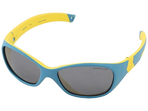 JULBO EYEWEAR JUNIORS Sunglasses, 3+ キッズ ベビー マタニティ アクセサリー ジュニア 【 Solan Kids Sunglasses, Blue/yellow W/ Spectron 3+ Lenses (4-6 Years) 】 Blue/yellow