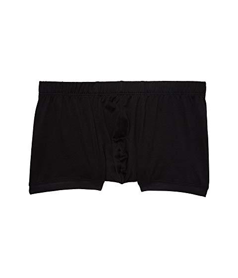 HANRO インナー 下着 ナイトウエア メンズ 【 Cotton Sporty Boxer Briefs 】 Black