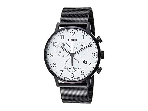 TIMEX 腕時計 メンズ腕時計 メンズ 【 Waterbury Traditional Day Date 】 Black/white