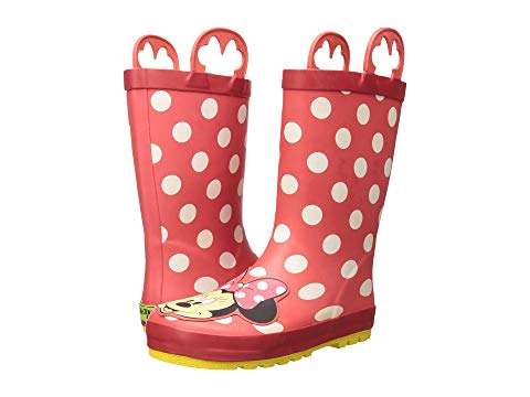 WESTERN CHIEF KIDS キッズ ベビー マタニティ ジュニア 【 Minnie Mouse Rain Boots (toddler/little Kid/big Kid) 】 Red