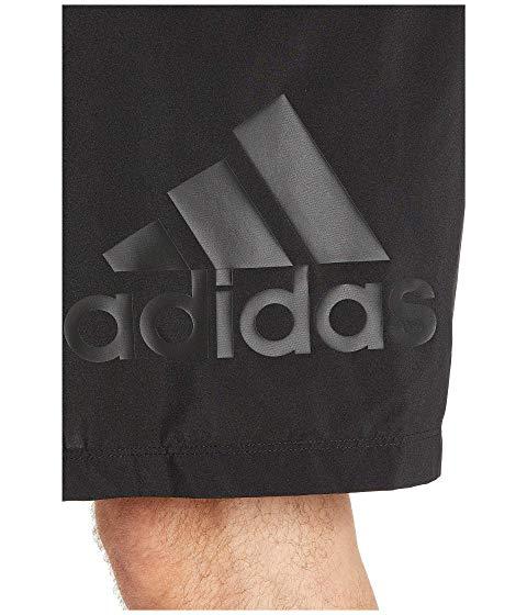 アディダス ADIDAS クラブ ショーツ ハーフパンツ 黒 ブラック 白 ホワイト 9