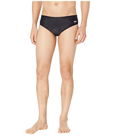 SPEEDO コア ソリッド メンズファッション 水着 メンズ 【 Core Solid Swim Briefs 】 New Black