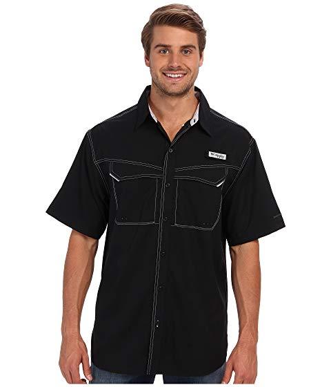 コロンビア COLUMBIA 半袖 Tシャツ OFFSHORE? 【 LOW DRAG S SHIRT BLACK 】 メンズファッション トップス カジュアルシャツ 送料無料