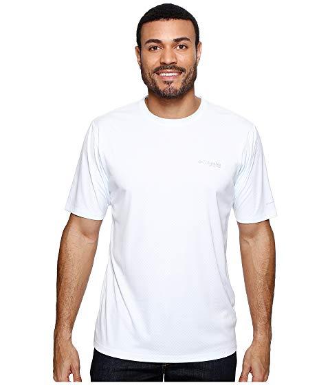 コロンビア COLUMBIA 半袖 Tシャツ RULES? 【 PFG ZERO S SHIRT WHITE 】 メンズファッション トップス カジュアルシャツ 送料無料