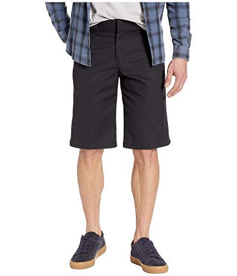 """ディッキーズ DICKIES ショーツ ハーフパンツ 13"""" 【 FLAT FRONT ACTIVE WAIST SHORTS REGULAR FIT BLACK 】 メンズファッション ズボン パンツ 送料無料"""