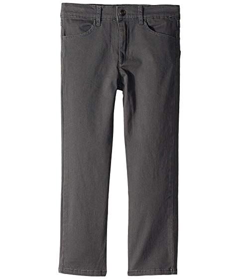【NeaYearSALE1/1-1/5】アパマンキッズ APPAMAN KIDS 【 SKINNY TWILL PANTS TODDLER LITTLE BIG VINTAGE BLACK 】 キッズ ベビー マタニティ ボトムス 送料無料