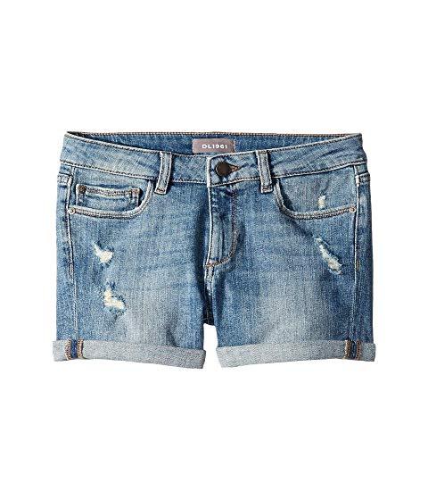 ディーエルナインティーンシックスティワンキッズ DL1961 KIDS ショーツ ハーフパンツ キッズ ベビー マタニティ ボトムス ジュニア 【 Piper Cuffed Shorts In Dorado (big Kids) 】 Dorado