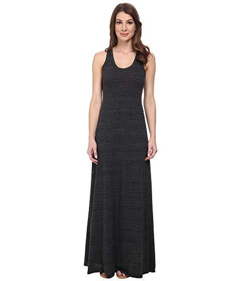 オルタナティブ ALTERNATIVE ドレス 黒 ブラック 【 BLACK ALTERNATIVE RACERBACK MAXI DRESS ECO 】 レディースファッション ドレス