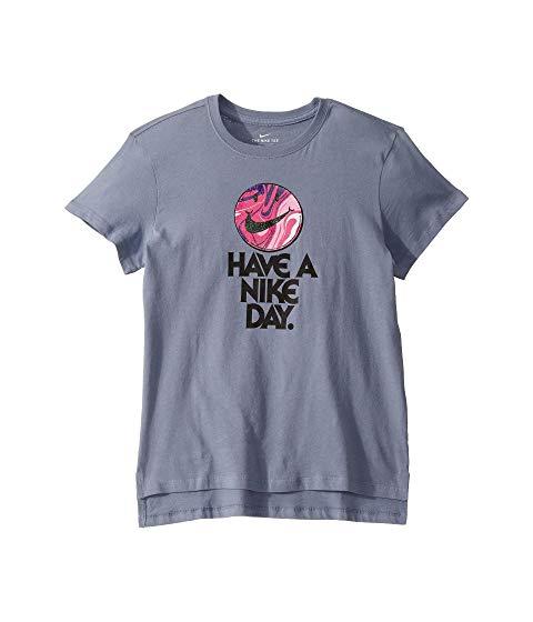 ナイキ キッズ NIKE KIDS Tシャツ 【 NSW HAVE A DAY TEE LITTLE BIG ASHEN SLATE 】 ベビー マタニティ トップス 送料無料
