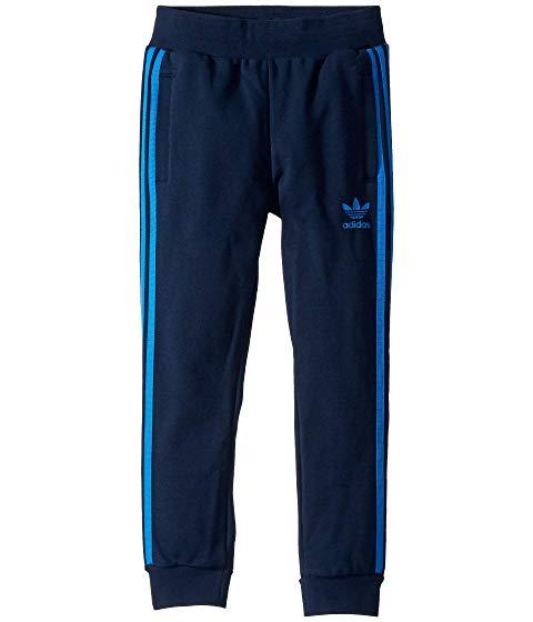 アディダスオリジナルスキッズ ADIDAS ORIGINALS KIDS トレフォイル キッズ ベビー マタニティ ボトムス ジュニア 【 Trefoil Pants (little Kids/big Kids) 】 Collegiate Navy/bluebird
