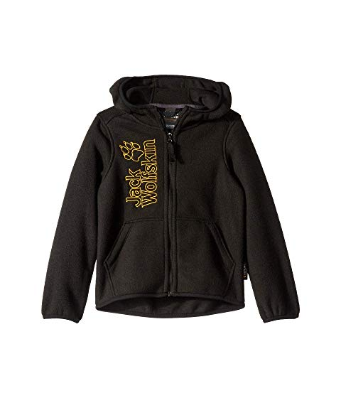 JACK WOLFSKIN KIDS 黒 ブラック 【 BLACK JACK WOLFSKIN KIDS STONY PEAK JACKET INFANT TODDLER LITTLE BIG 】 キッズ ベビー マタニティ コート