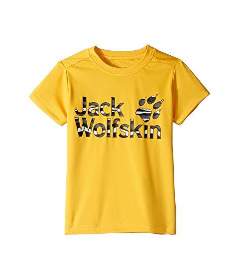 JACK WOLFSKIN KIDS Tシャツ キッズ ベビー マタニティ トップス ジュニア 【 Jungle Tee (infant/toddler/little Kids/big Kids) 】 Burly Yellow Xt