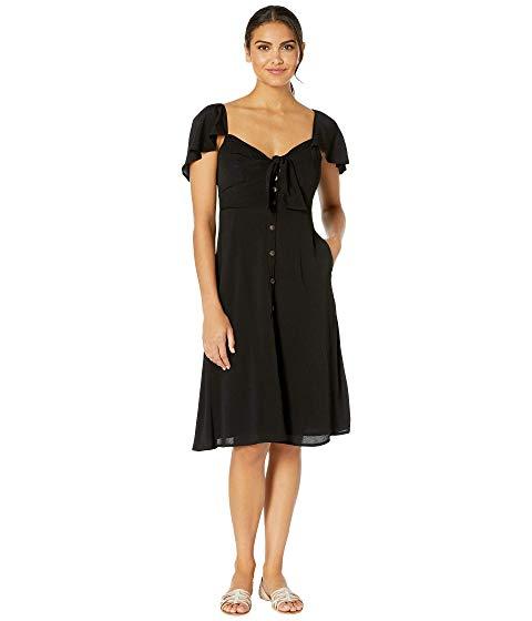 ASTR THE LABEL ドレス 黒 ブラック 【 BLACK ASTR THE LABEL RACHELLE DRESS 】 レディースファッション ドレス