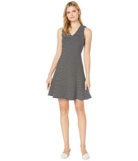 KAREN KANE ストライプ ドレス & 【 STRIPE KAREN KANE FIT FLARE DRESS 】 レディースファッション ドレス