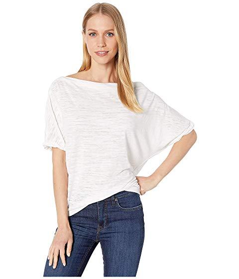 FREE PEOPLE 【 ASTRID TEE WHITE 】 レディースファッション トップス Tシャツ カットソー 送料無料