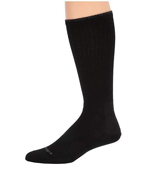 DARN TOUGH VERMONT スタンダード ミッド ソックス 靴下 インナー 下着 ナイトウエア メンズ 下 レッグ 【 The Standard Mid Calf Light Socks 】 Black