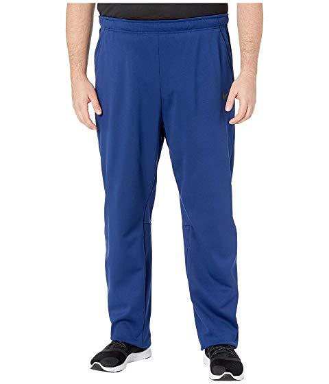 ナイキ NIKE 青 ブルー 黒 ブラック & 【 BLUE BLACK NIKE BIG TALL THERMAL PANTS REGULAR VOID 】 メンズファッション ズボン パンツ