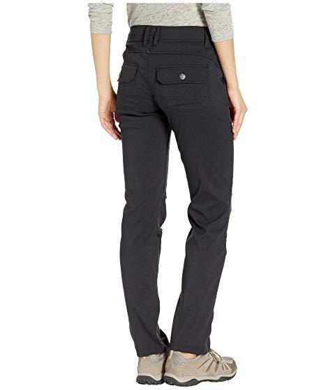 PRANA 黒 ブラックBLACK PRANA HALLE STRAIGHT PANTSレディースファッション ボトEIWDH92
