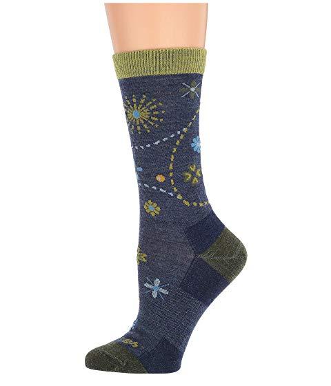 DARN TOUGH VERMONT ソックス 靴下 インナー 下着 ナイトウエア レディース 下 レッグ 【 Garden Crew Light Socks 】 Denim Heather