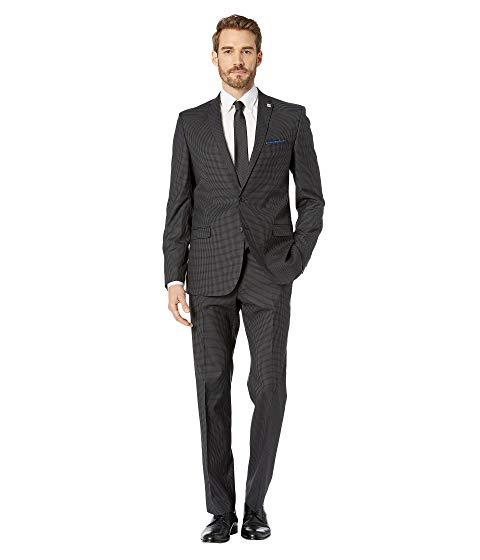 NICK GRAHAM マッドネス メンズファッション スーツ セットアップ メンズ 【 Mercury Madness Check Suit 】 Grey
