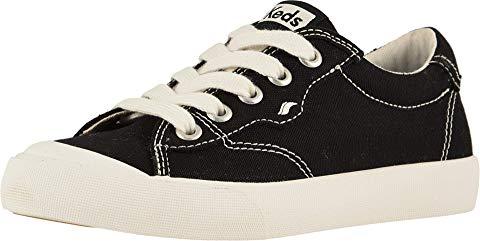 KEDS KIDS クルー キック 黒 ブラック '75 【 BLACK KEDS KIDS CREW KICK LITTLE KID BIG 】 キッズ ベビー マタニティ