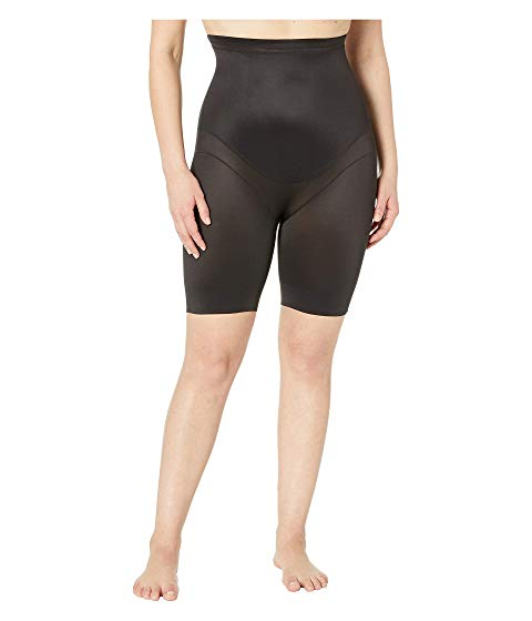 MIRACLESUIT SHAPEWEAR インナー 下着 ナイトウエア レディース 【 Plus Size Extra Firm Control High-waist Thigh Slimmer 】 Black