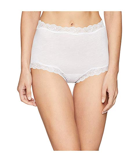 ONLY HEARTS インナー 下着 ナイトウエア レディース 【 Organic Cotton Brief With Lace 】 White