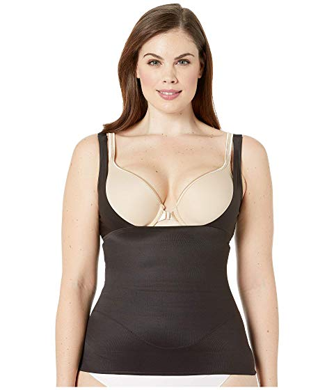 MIRACLESUIT SHAPEWEAR 【 PLUS SIZE WEARYOUROWNBRA EXTRA FIRM CONTROL CAMISOLE BLACK 】 インナー 下着 ナイトウエア レディース 送料無料