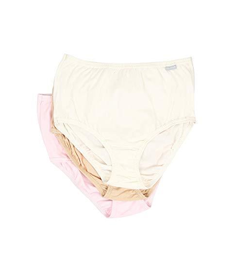 JOCKEY Elance・・ インナー 下着 ナイトウエア レディース 【 Plus Size Elance・・ Brief 3-pack 】 Ivory/peach Powder/rose Blush