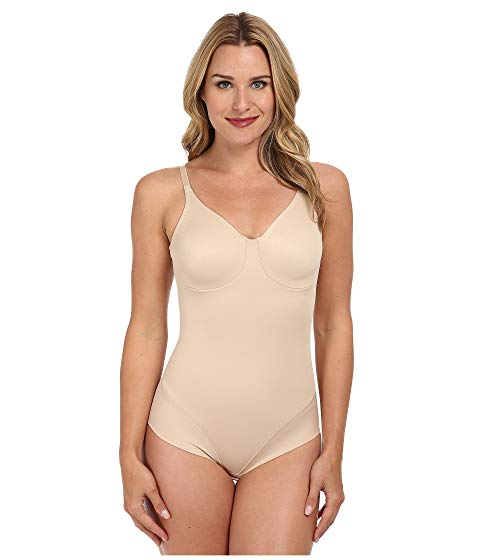MIRACLESUIT SHAPEWEAR スムース インナー 下着 ナイトウエア レディース 【 Extra Firm Comfort Leg Smooth Molded Cup Bodybriefer 】 Nude