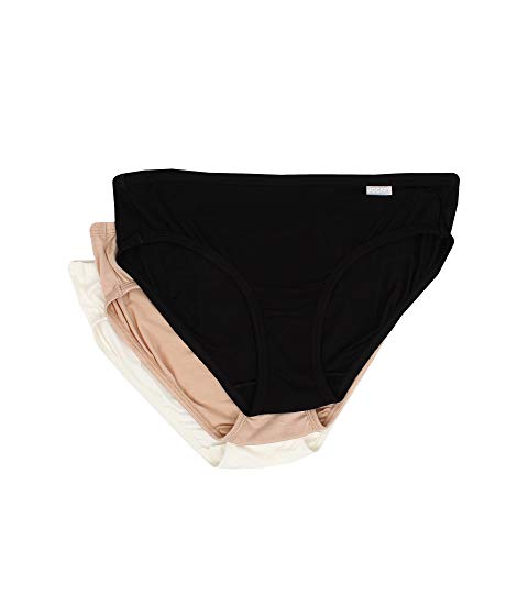JOCKEY Elance・・ インナー 下着 ナイトウエア レディース 【 Elance・・ Supersoft Bikini 3-pack 】 Black/light/ivory