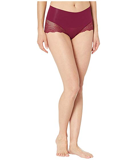 SPANX 【 SPANX UNDIETECTABLE LACE HIHIPSTER PANTY BORDEAUX 】 インナー 下着 ナイトウエア レディース