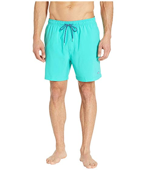 【NeaYearSALE1/1-1/5】SOUTHERN TIDE ソリッド 【 PACKABLE TRAVELREADY SOLID SWIM TRUNK COCKATOO 】 メンズファッション 水着 送料無料