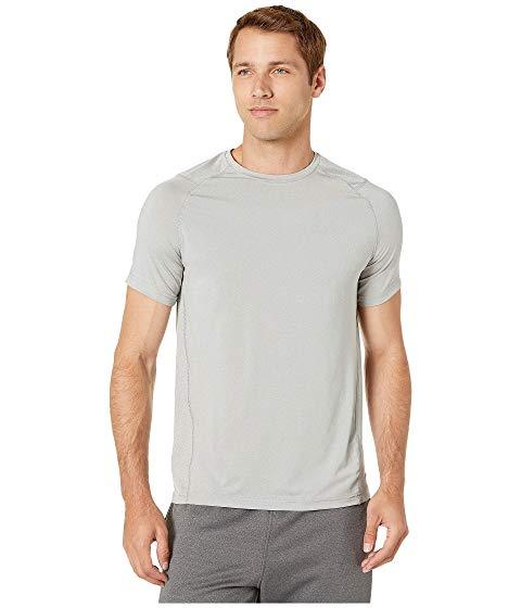 JOCKEY ACTIVE Tシャツ メンズファッション トップス カットソー メンズ 【 Aerated Mesh Back Tee 】 Light Grey Heather/solid