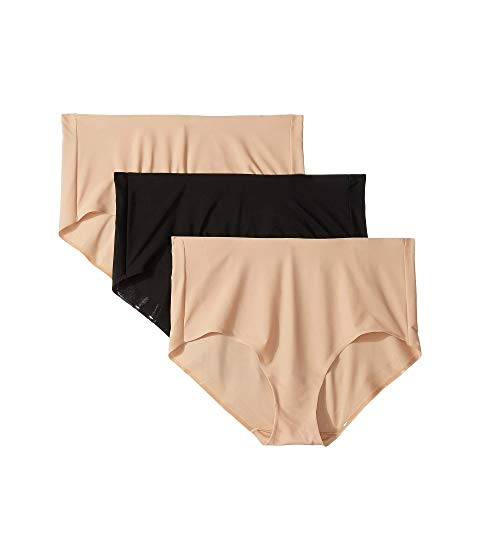 MIRACLESUIT SHAPEWEAR 【 TC INTIMATES BY 3PACK MICROFIBER BRIEF NUDE BLACK 】 インナー 下着 ナイトウエア レディース 送料無料