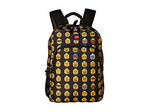 LEGO クラシック バックパック バッグ リュックサック キッズ ベビー マタニティ ランドセル ジュニア 【 Minifigure Heritage Classic Backpack 】 Black