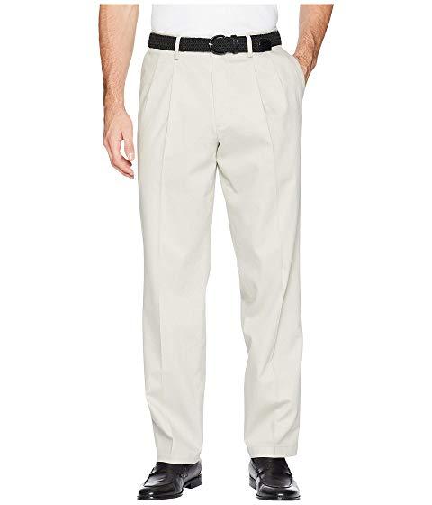 【海外限定】クラシック カーキ ズボン メンズファッション 【 CLASSIC FIT SIGNATURE KHAKI LUX COTTON STRETCH PANTS D3 PLEATED 】
