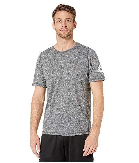アディダス ADIDAS ヘザー Tシャツ メンズファッション トップス カットソー メンズ 【 Freelift Heather Tee 】 Black/white