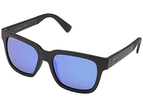 MAUI JIM 黒 ブラック 青 ブルー ハワイ 【 BLACK BLUE MAUI JIM MONGOOSE MATTE HAWAII 】 バッグ 眼鏡