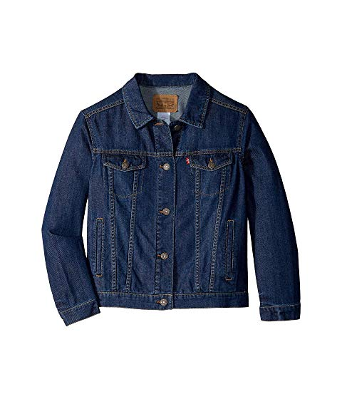 LEVI'S KIDS トラッカー LEVI'S 【 KIDS LIGHTWEIGHT TRUCKER JACKET BIG SIREN 】 キッズ ベビー マタニティ コート