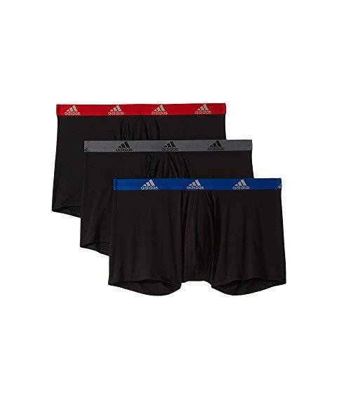 アディダス ADIDAS Climalite・・ インナー 下着 ナイトウエア メンズ 【 Big And Tall Climalite・・ Boxer Brief 3-pack 】 Black/collegiate Royal Black/scarlet/black/onix