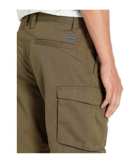 "VOLCOM カーゴ 20"" 【 BEVEL CARGO SHORTS MILITARY 】 メンズファッション ズボン パンツ 送料無料"