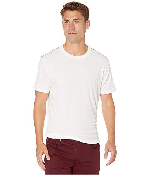 RVCA スリーブ 【 SLEEVE SOLO LABEL SHORT TSHIRT ANTIQUE WHITE 】 メンズファッション トップス Tシャツ カットソー 送料無料