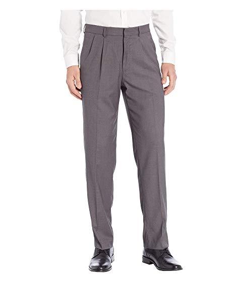 ドッカーズ DOCKERS ドレス パンツ チャコール 【 DOCKERS PLEATED STRETCH DRESS PANT W WAISTBAND CHARCOAL 】 メンズファッション ズボン パンツ