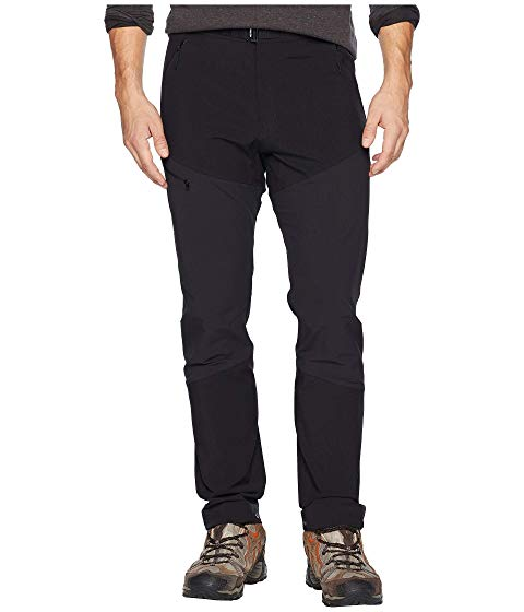 ARC'TERYX 黒 ブラック ARC'TERYX 【 BLACK SIGMA FL PANTS 】 メンズファッション ズボン パンツ