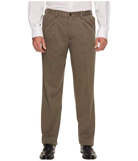 ドッカーズ DOCKERS カーキ & 【 DOCKERS BIG TALL EASY KHAKI PLEATED PANTS DARK PEBBLE 】 メンズファッション ズボン パンツ