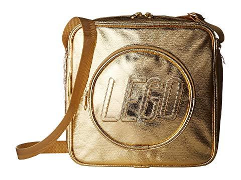 LEGO キッズ ベビー マタニティ バッグ ランドセル ジュニア 【 Brick Crossbody Handbag 】 Gold